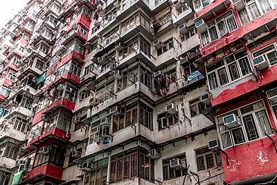 Hong Kong, Quarry Bay, apartment block - p300m2069684 by Daniel Waschnig Photography