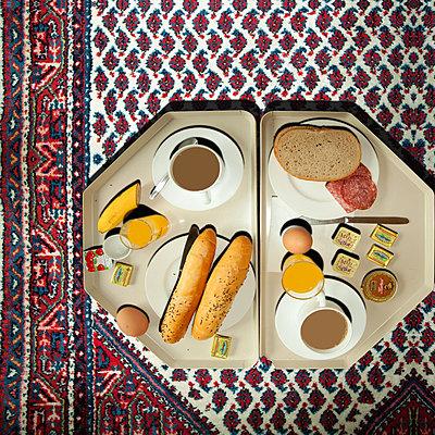 Frühstück - p230m2152643 von Peter Franck
