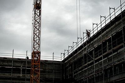 Baustelle - p1272m2015423 von Steffen Scheyhing