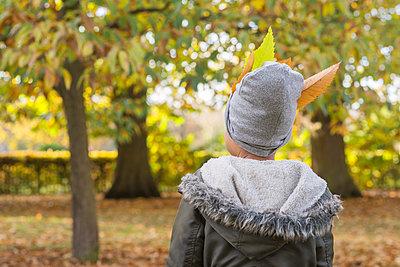 Portrait in autumn - p1323m1190286 by Sarah Toure