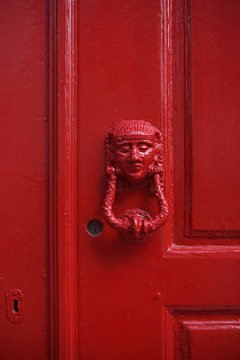 Old door knocker - p0452885 by Jasmin Sander