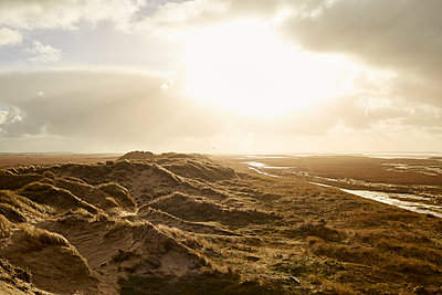 Dune landscape at sunset - p1511m2223085 by artwall