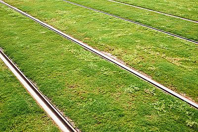 Strassenbahnschienen - p1164m1590069 von Uwe Schinkel