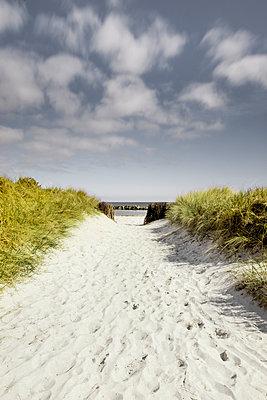 Zugang zum Strand - p248m1025417 von BY