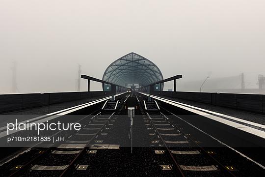 New underground station, line 4, Harbour City, Hamburg - p710m2181835 by JH