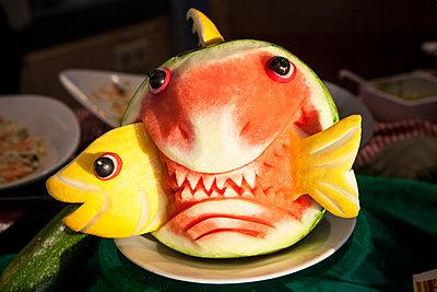 Wassermelone - p781m1497626 von Angela Franke