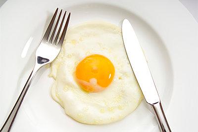 Egg yolk - p3000760f by Dieter Heinemann