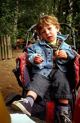 Pause im Park - p1300029 von Vanessa Christmann
