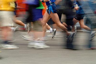 Marathon in Hamburg - p0670722d von Thomas Grimm