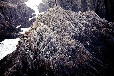 Ragged steep coast - p354m1043342 by Andreas Süss