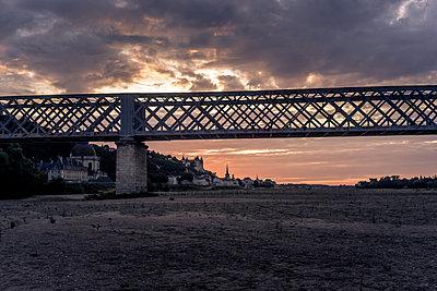 The Saumur Railway Bridge - p1402m2110565 by Jerome Paressant