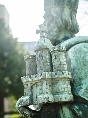 Karl der Große mit der Hammaburg, Engelbert Peiffer - p1493m1584657 von Alexander Mertsch