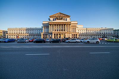Poland, Warsaw, Grand Theatre and National Opera - p300m1417337 by Artur Bogacki