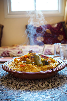 Morocco, Moroccan food - p1167m2269971 by Maria Schiffer
