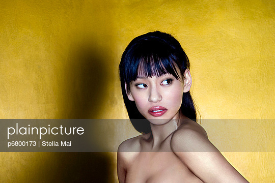 Asian beauty - p6800173 by Stella Mai