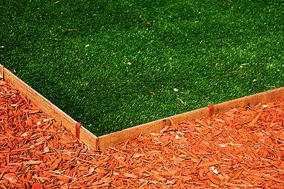 Lawn edge - p628m2184099 von Franco Cozzo