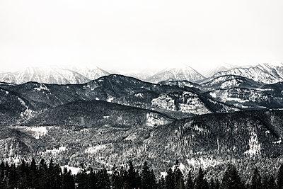 Berglandschaft im Voralpenland - p354m1564357 von Andreas Süss