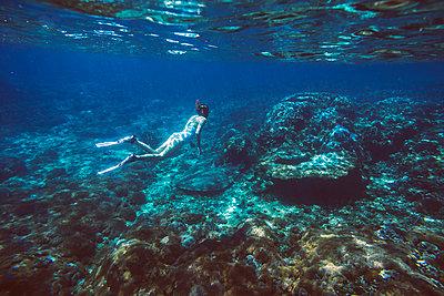 Snorkeling in Indian ocean - p1108m1118842 by trubavin