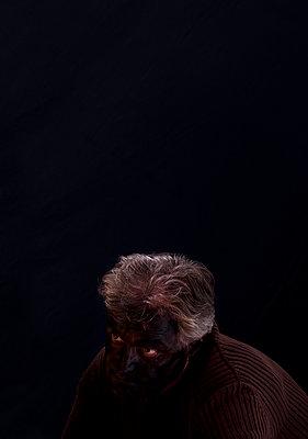 Theatre makeup - p1279m1134677 by Ulrike Piringer