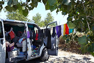 Clothes line - p117m918189 by Katja Nitsche