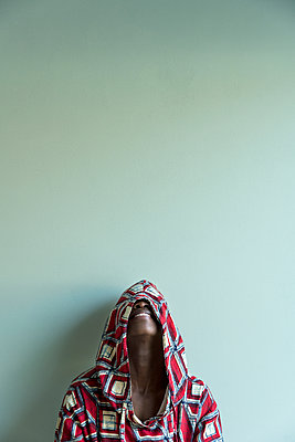 African woman - p427m2285215 by Ralf Mohr