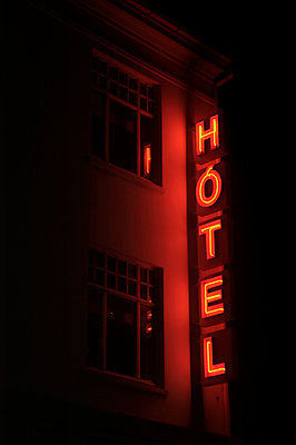 Hotel, Reykjavik, Iceland - p1028m1136703 by Jean Marmeisse