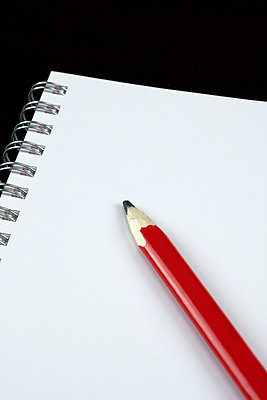 Notebook and pencil - p3830263 by visual2020vision