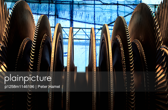 Turbinenläufer - p1258m1146196 von Peter Hamel