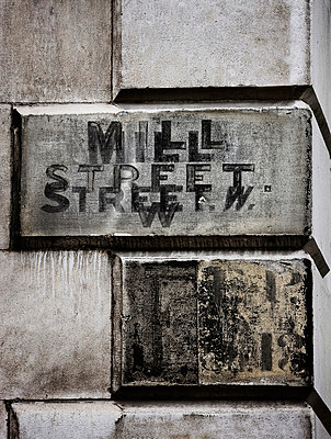 Mill Street sign - p312m672837 by Bruno Ehrs