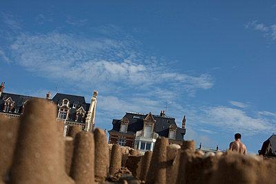 Sandcastle - p445m709585 by Marie Docher
