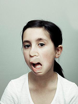 Verzerrtes Gesicht - p5840557 von ballyscanlon