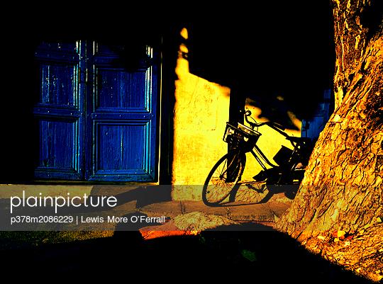 Puducherry Bike - p378m2086229 by Lewis More O'Ferrall
