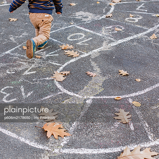 Hopscotch - p606m2178650 by Iris Friedrich