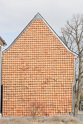 Ziegelfassade - p1357m1510883 von Amadeus Waldner