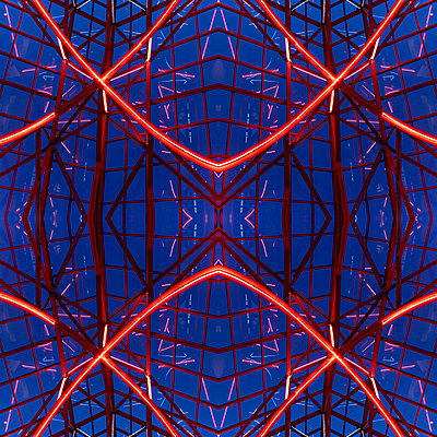 Abstract Architecture Kaleidoscope Boston - p401m2216006 by Frank Baquet