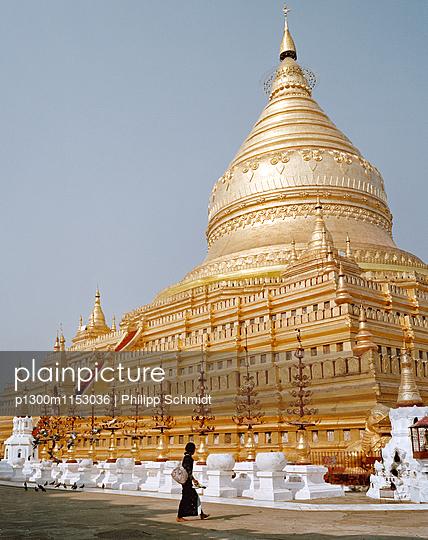 Pagode in Bagan - p1300m1153036 von Philipp Schmidt