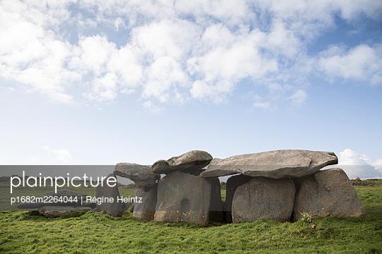 Dolmen in Brittany, France - p1682m2264044 by Régine Heintz