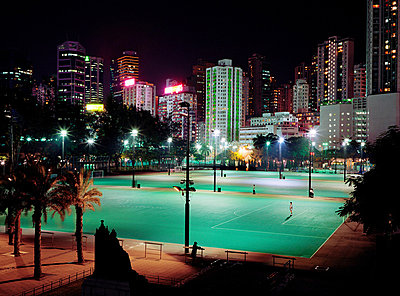 Victoria park hong kong - p9247337f by Image Source