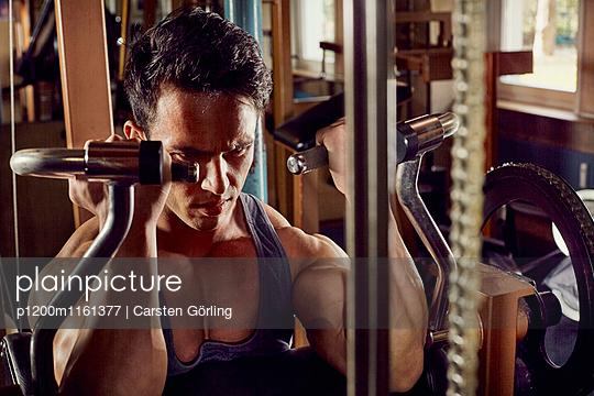 Bodybuilding - p1200m1161377 von Carsten Görling
