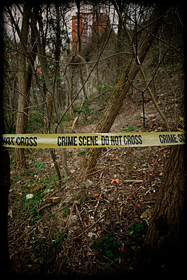 Crime Scene  - p1028m1004158 by Jean Marmeisse