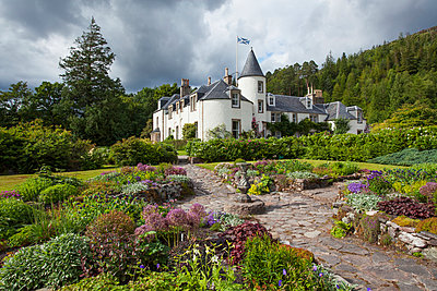 Attadale House and Gardens, near Strathcarron; Wester Ross, Scotland - p442m961515 by Carl Bruemmer