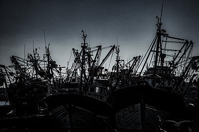 Fischerhafen von Essouira - p1243m1516486 von Archer