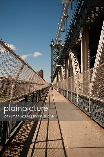 Manhattan Bridge - p470m1152804 von Ingrid Michel