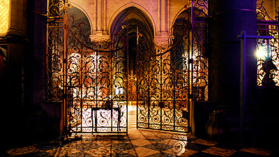 Illuminated church - p56711174 by LE CERCLE ROUGE