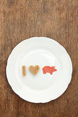 I love pork - p4540561 von Lubitz + Dorner