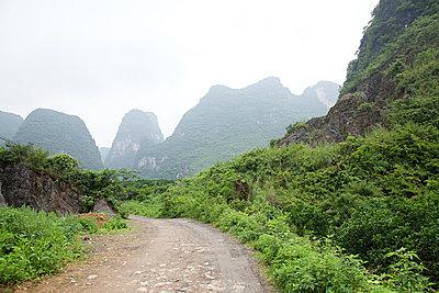 China, guangxi province, yangshuo karst landscape - p9244871f by Image Source