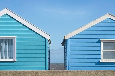 Beach Huts - p1323m1182043 by Sarah Toure
