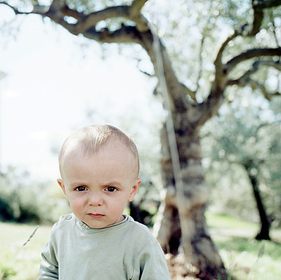 Portrait of toddler boy - p1468m1558900 by Philippe Leroux