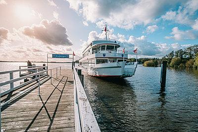 Bootsanleger am Bad Zwischenahner Meer - p299m2132783 von Silke Heyer