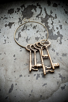 Vintage set of keys  - p794m899083 by Mohamad Itani